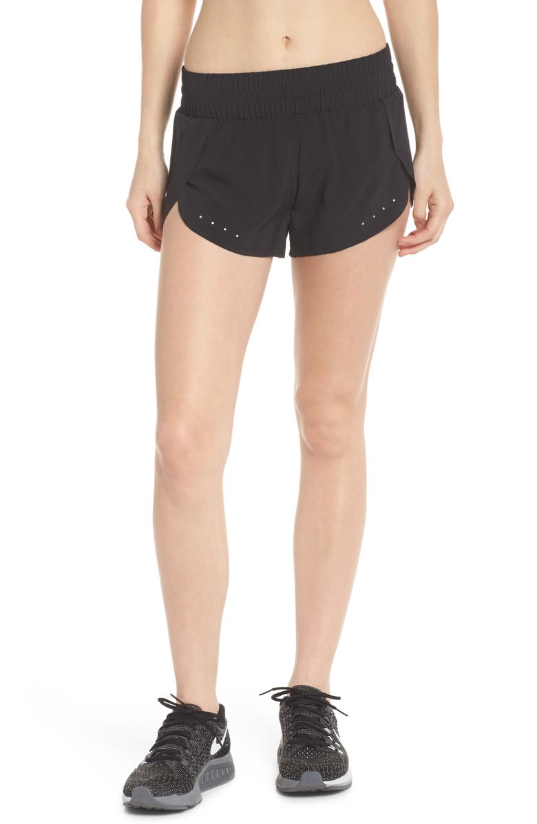 ZELLA Run Play Shorts, Main, color, BLACK