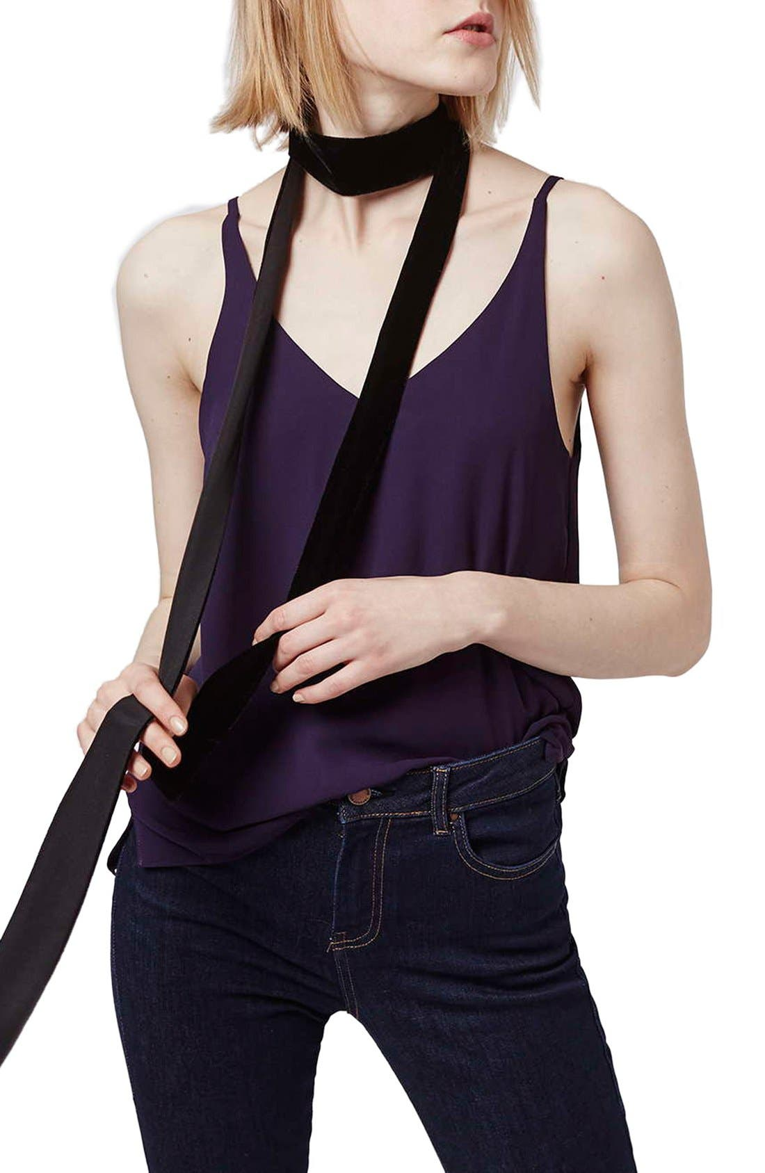 ,                             Strappy V-Neck Camisole,                             Main thumbnail 42, color,                             501