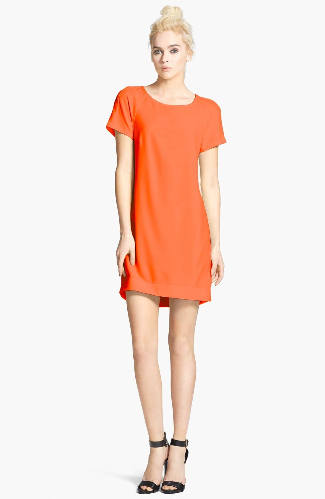 ,                             Crepe Shift Dress,                             Main thumbnail 20, color,                             800