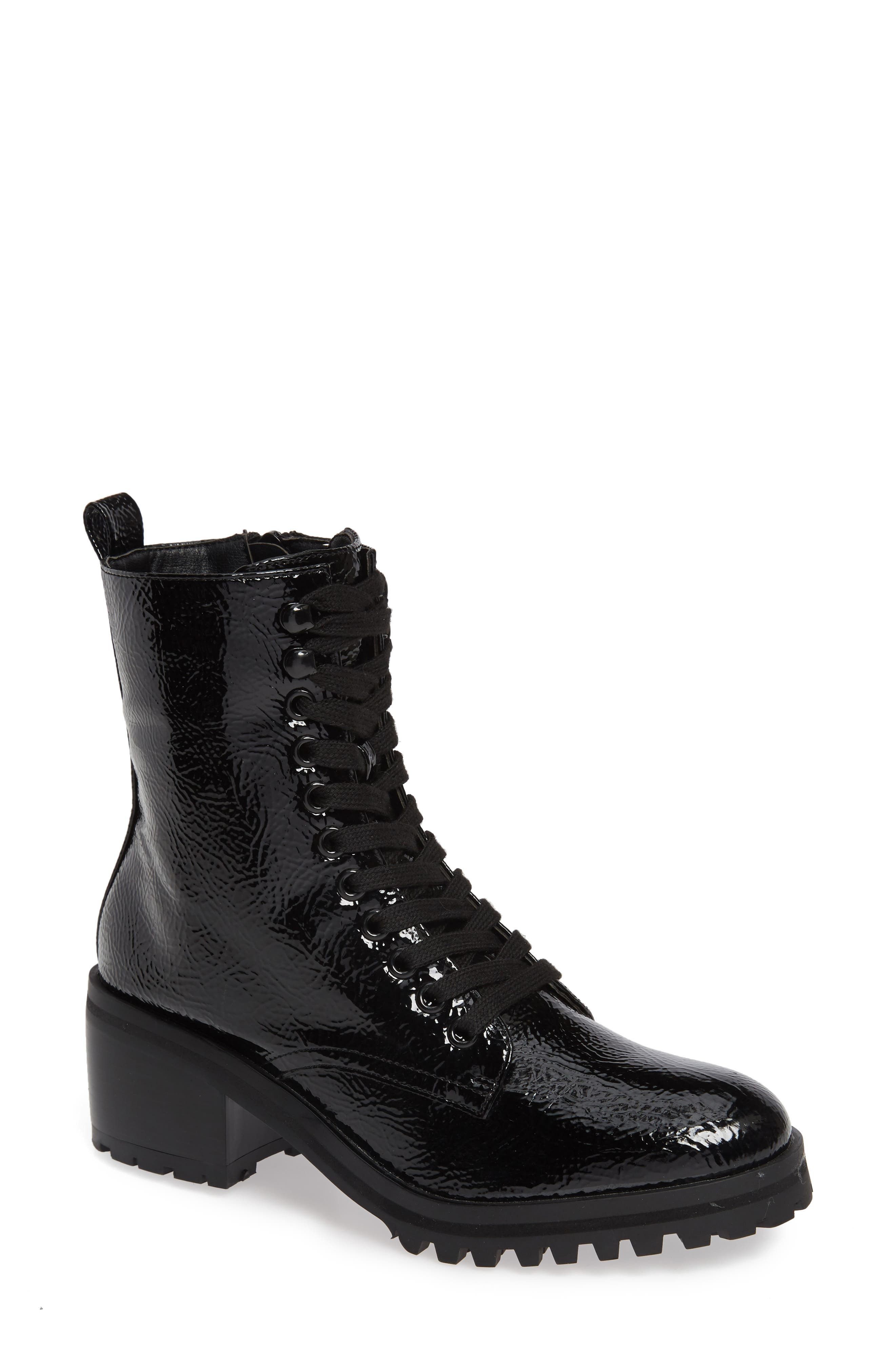 Topshop Brazil Lace-Up Boot (Women