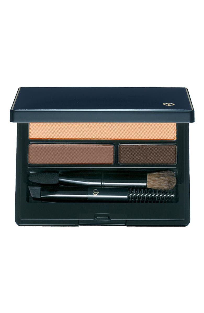 CLÉ DE PEAU BEAUTÉ Eyebrow & Eyeliner Compact, Main, color, 1