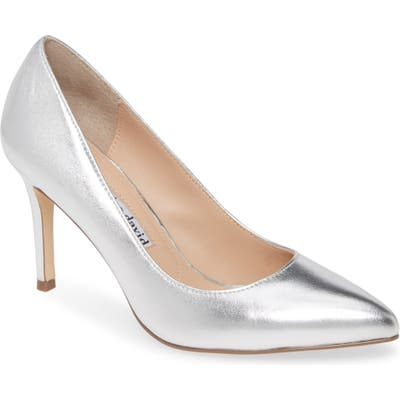Charles David Vibe Pump, Metallic