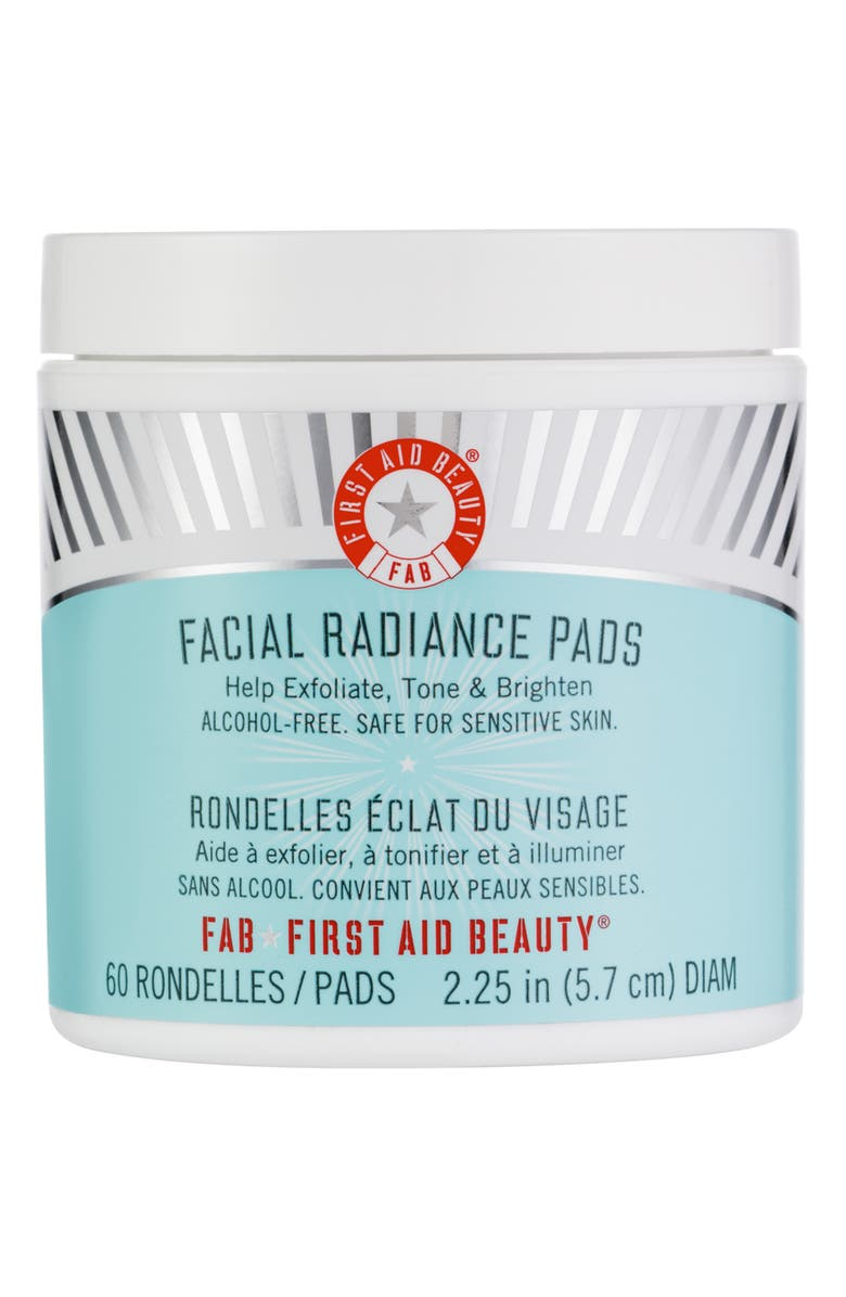 FIRST AID BEAUTY Facial Radiance Pads, Main, color, 000