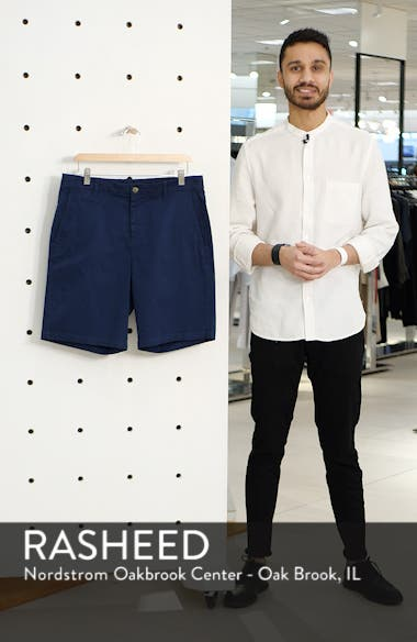 Neal Stretch Twill Shorts, sales video thumbnail