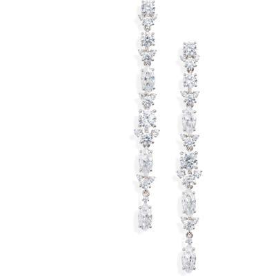 Nadri Lavande Linear Earrings