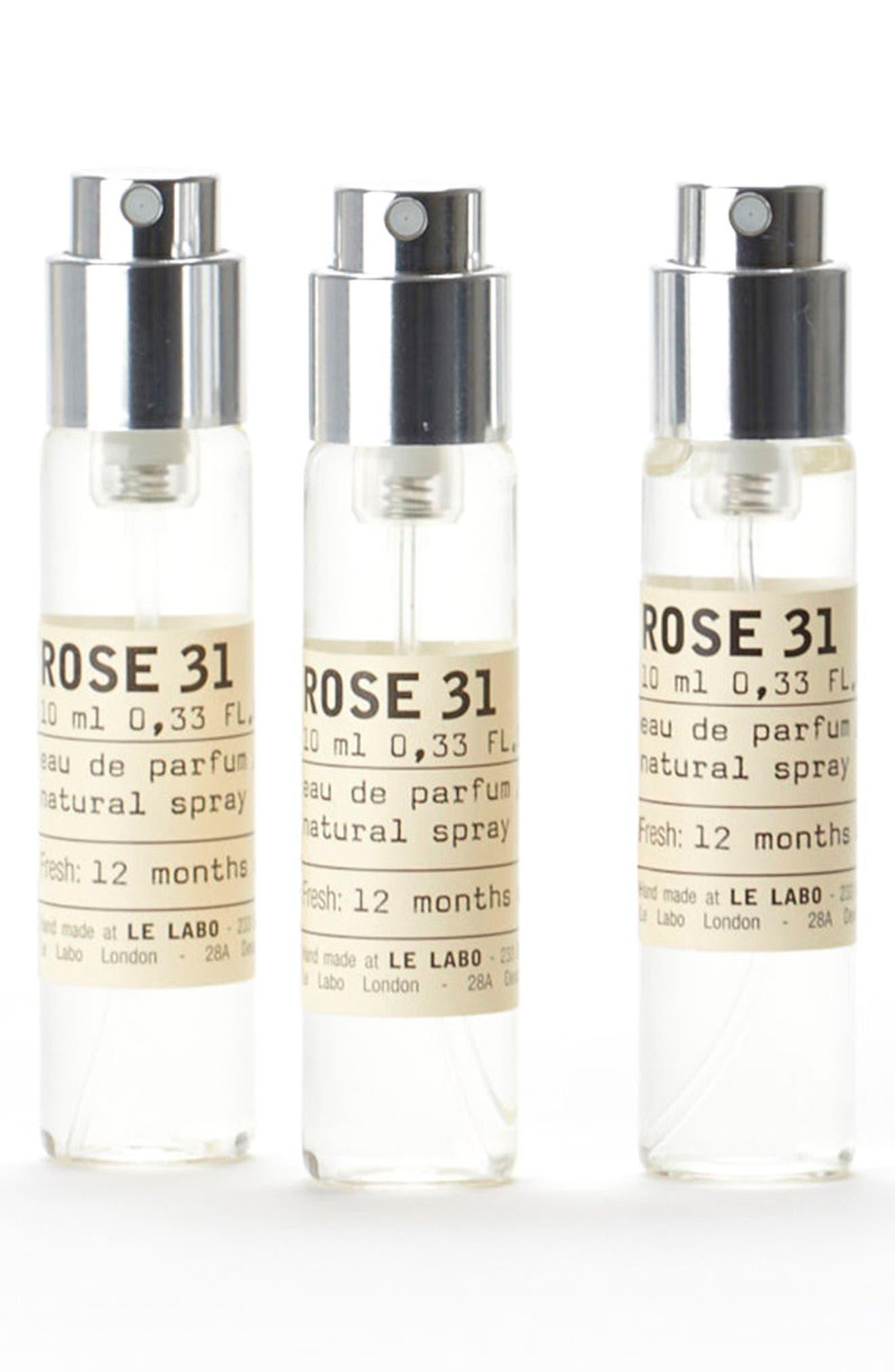 Rose 31 Eau De Parfum Travel Tube Refill Trio