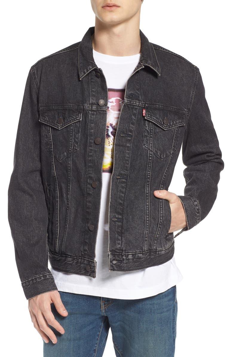 LEVI'S<SUP>®</SUP> Trucker Denim Jacket, Main, color, 001