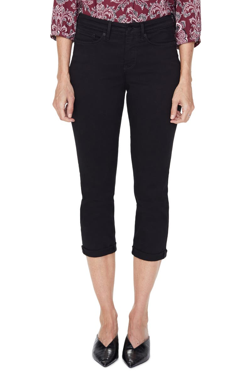 NYDJ Chloe Capri Jeans, Main, color, 001