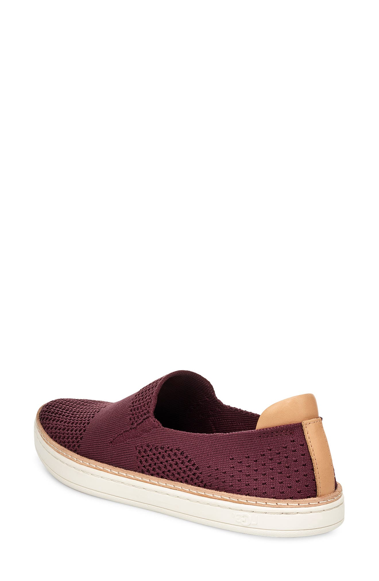UGG   Sammy Leather Mixed Media Sneaker
