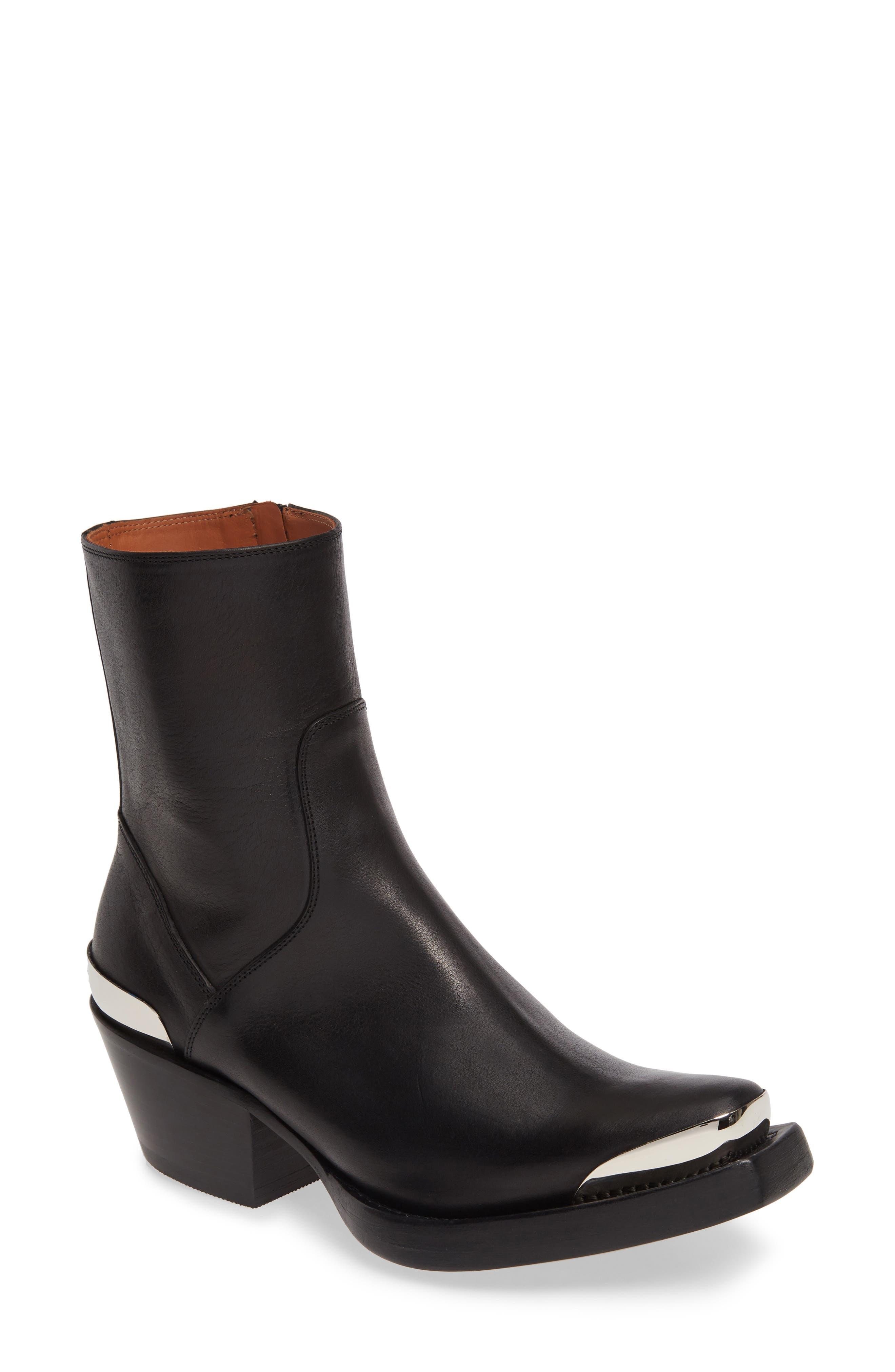 Vetements Cowboy Boot, Black