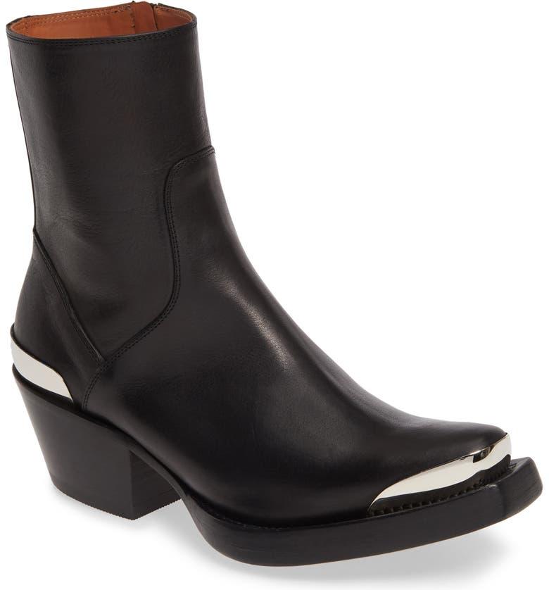 VETEMENTS Cowboy Boot, Main, color, 001