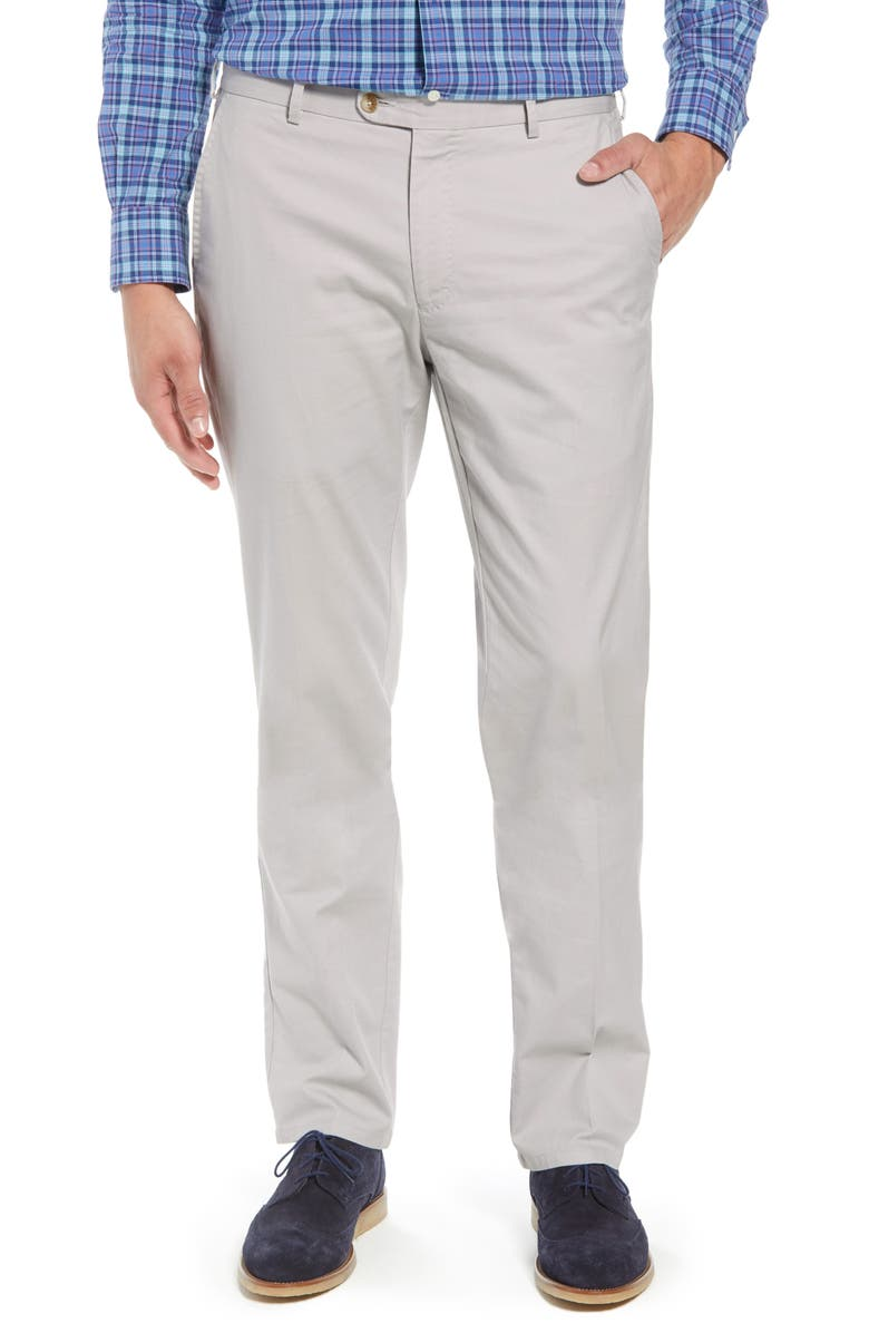 PETER MILLAR Soft Touch Twill Dress Pants, Main, color, 050