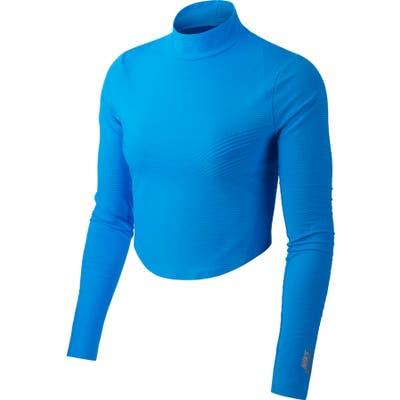 Nike Nikelab Nrg Nwcc Crop Top, Blue