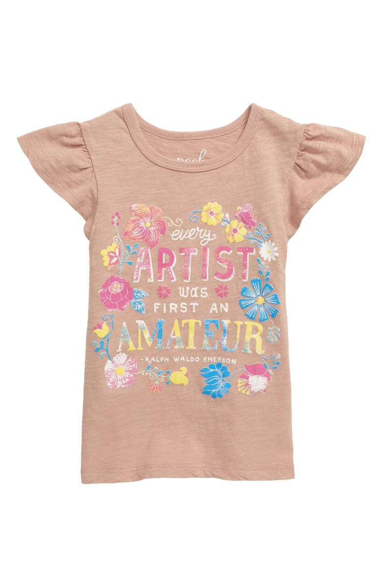 PEEK AREN'T YOU CURIOUS Artist Graphic Tee, Main, color, 661