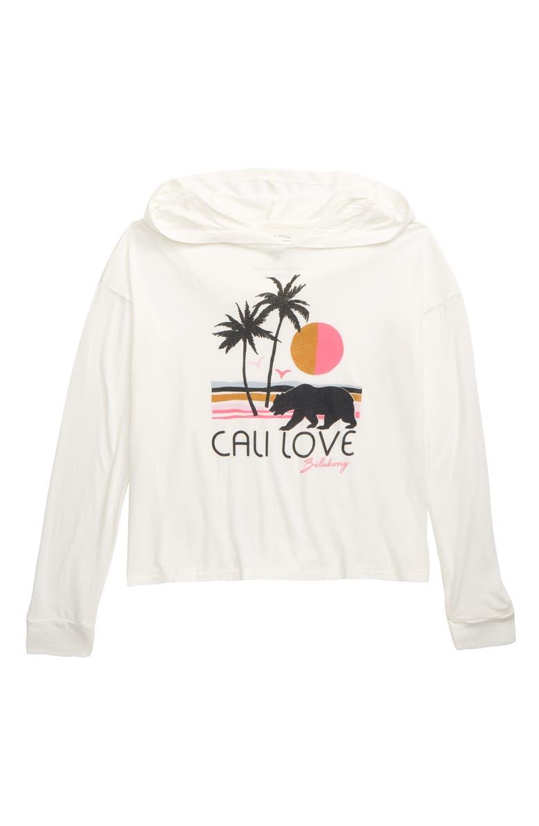 BILLABONG Cali Love Beach Tee, Main, color, COOL WIP