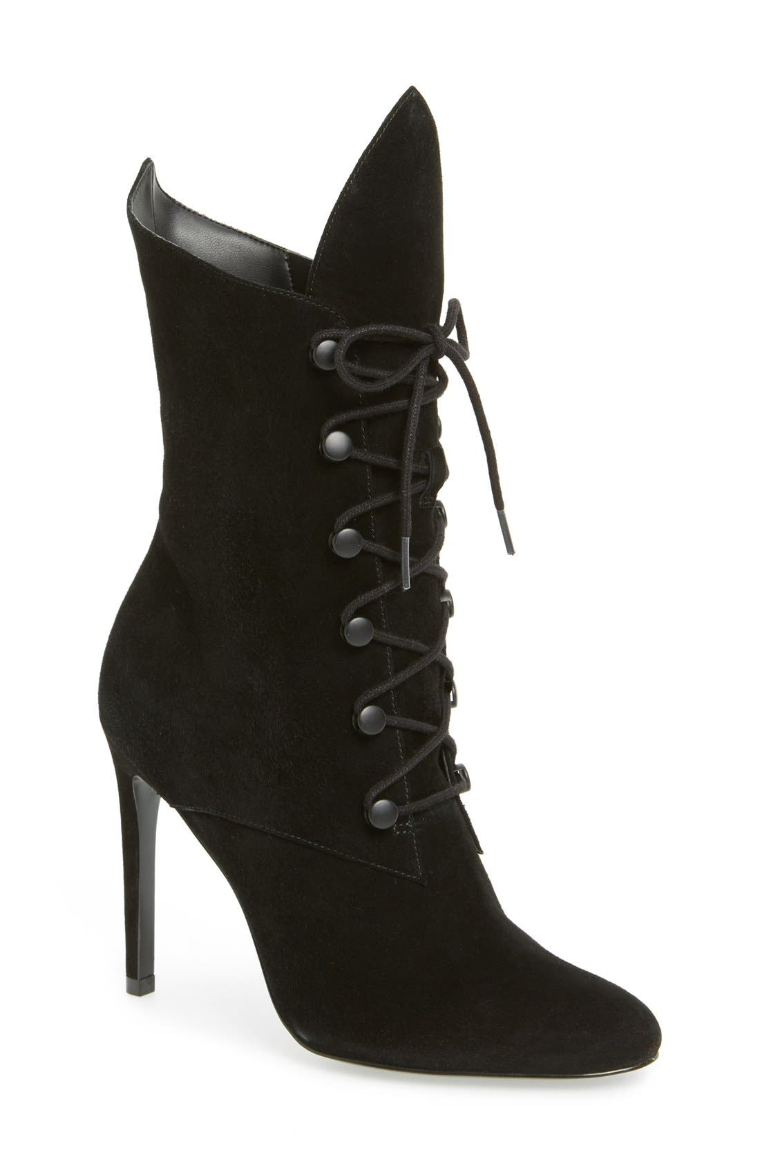 KENDALL + KYLIE Maya Lace-Up Bootie