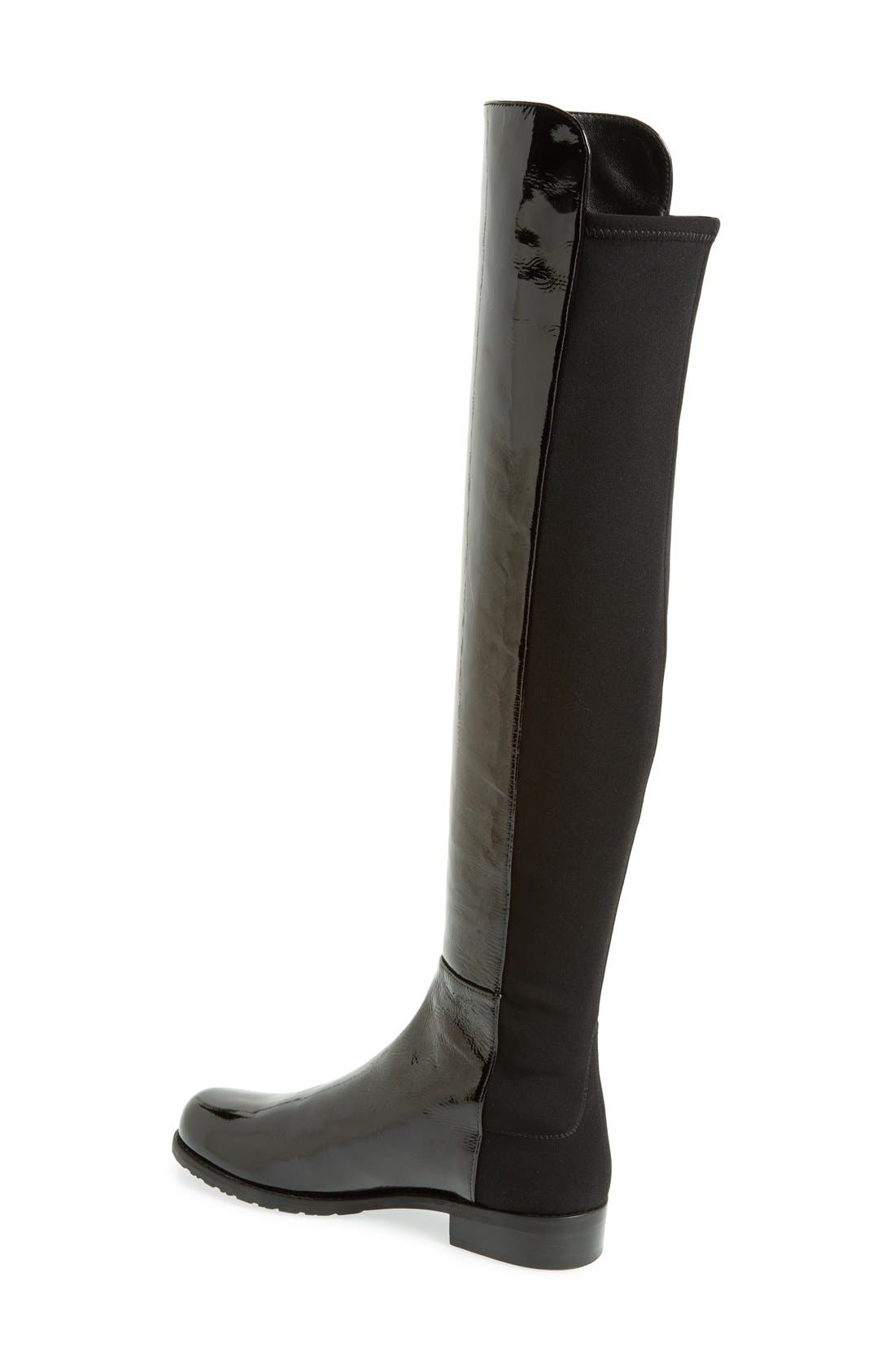 ,                             5050 Over the Knee Leather Boot,                             Alternate thumbnail 6, color,                             008