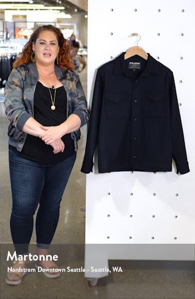 Regular Fit Wool Shirt Jacket, sales video thumbnail