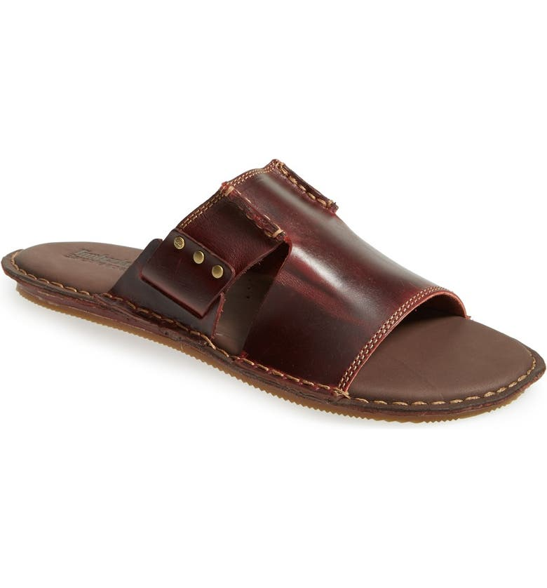 Paleto fresa Peatonal  Timberland Earthkeepers® 'Harbor Point' Slide Sandal (Men) | Nordstrom