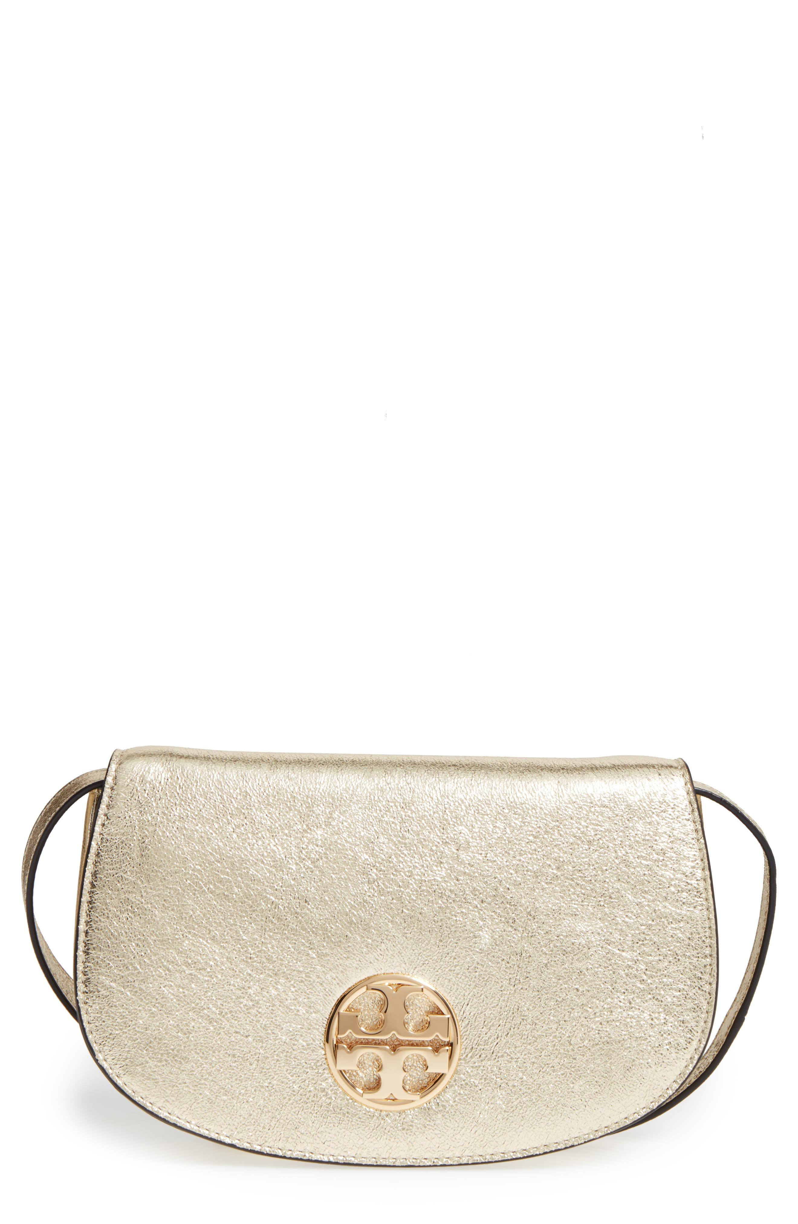 ,                             Jamie Metallic Leather Clutch,                             Main thumbnail 1, color,                             701