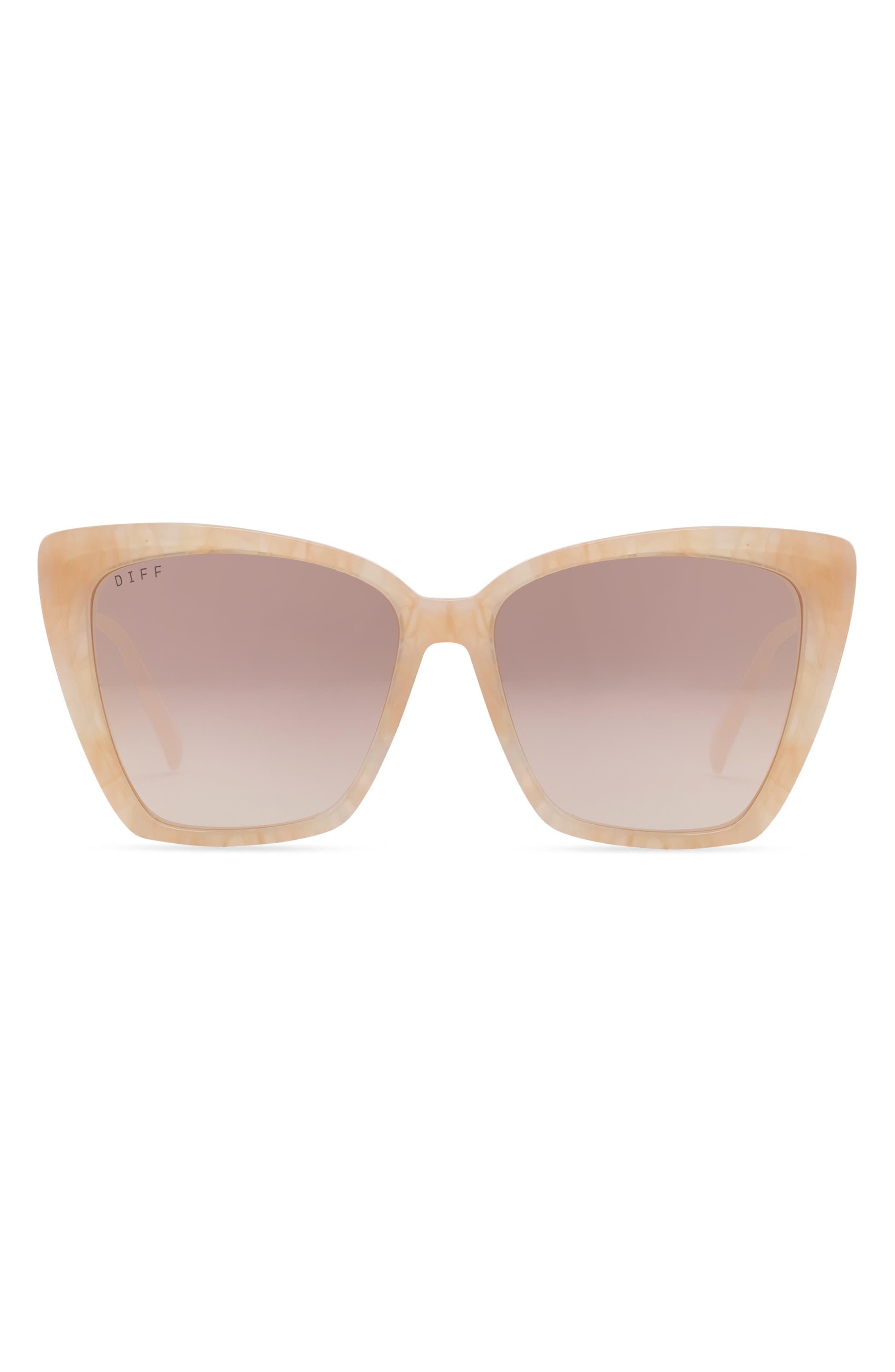 Becky Ii 57mm Gradient Cat Eye Sunglasses