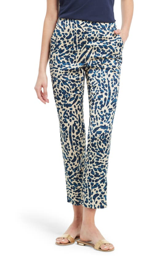 Nic + Zoe INK SPLATTER ANKLE PANTS