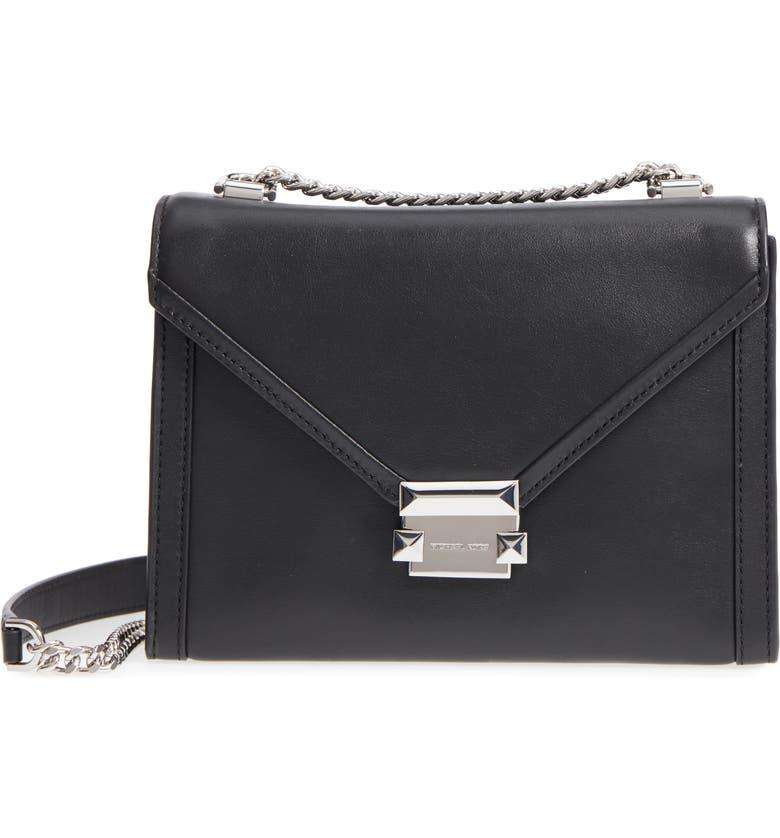 7d148ed0e477 MICHAEL Michael Kors Large Whitney Leather Shoulder Bag | Nordstrom