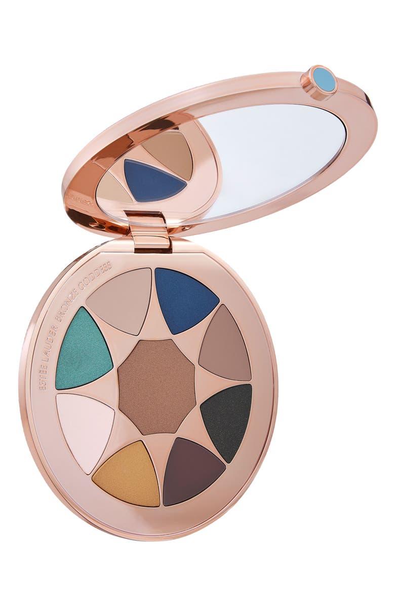 ESTÉE LAUDER Bronze Goddess Azur The Summer Look Eyeshadow Palette, Main, color, NO COLOR