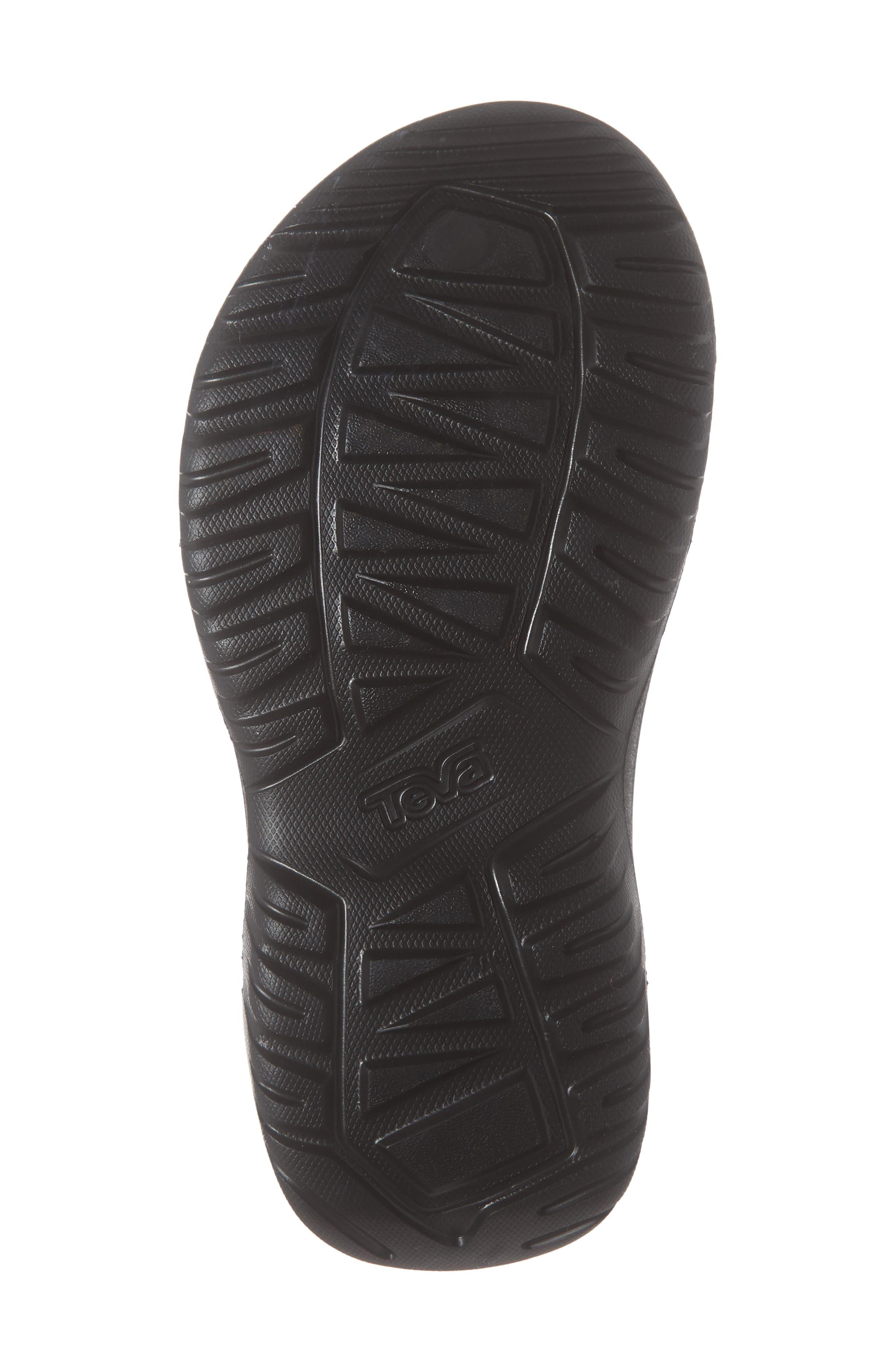 ,                             Hurricane Drift Water Friendly Sandal,                             Alternate thumbnail 6, color,                             BLACK FABRIC