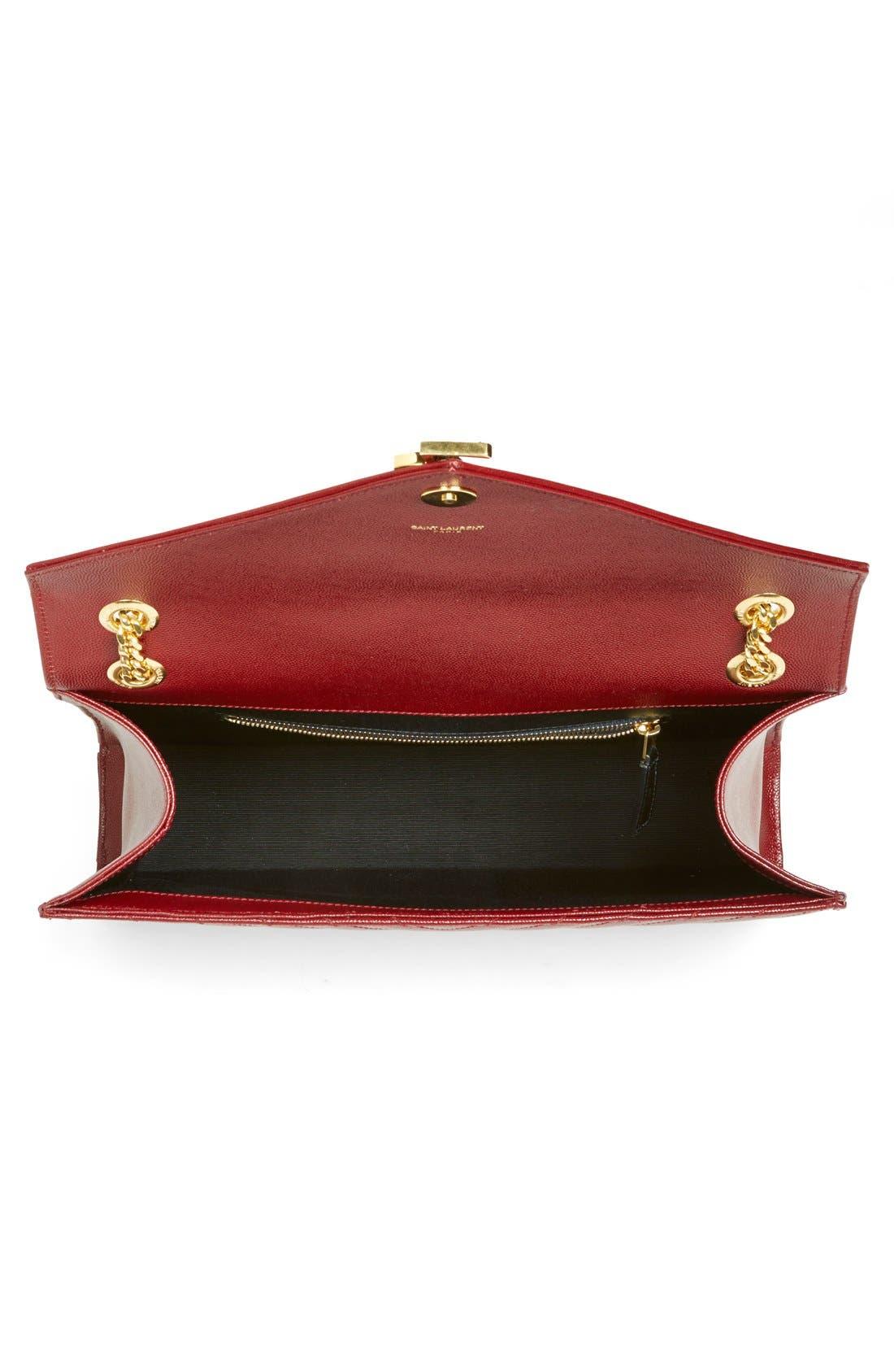 ,                             'Large Monogram' Grained Leather Shoulder Bag,                             Alternate thumbnail 54, color,                             930