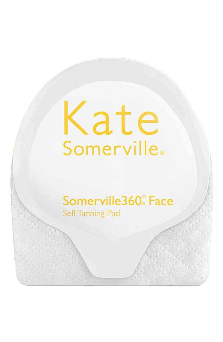 KATE SOMERVILLE<SUP>®</SUP> 'Somerville 360° Face' Self Tanning Pad, Main, color, 000