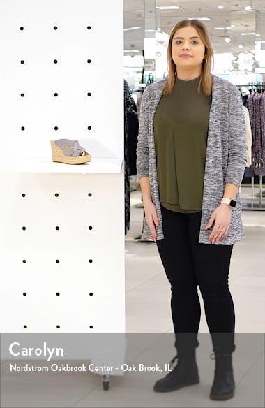 Olivia Platform Slide Sandal, sales video thumbnail