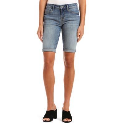 Mavi Jeans Karly Denim Bermuda Shorts, Blue