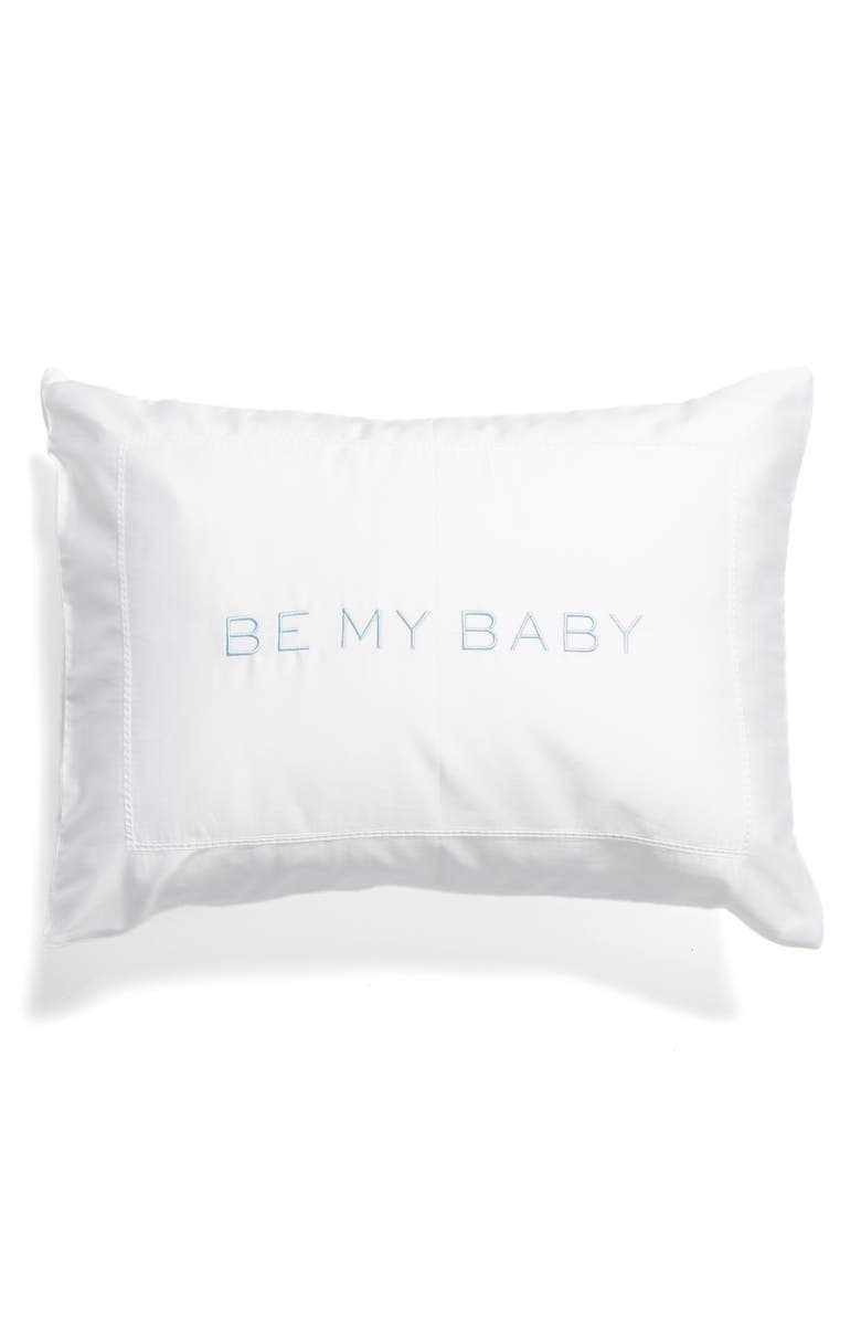 HILL HOUSE HOME Be My Baby Mini Pillow, Main, color, WHITE