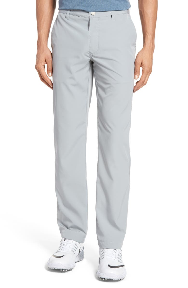 BONOBOS Lightweight Highland Slim Fit Golf Pants, Main, color, PEWTER