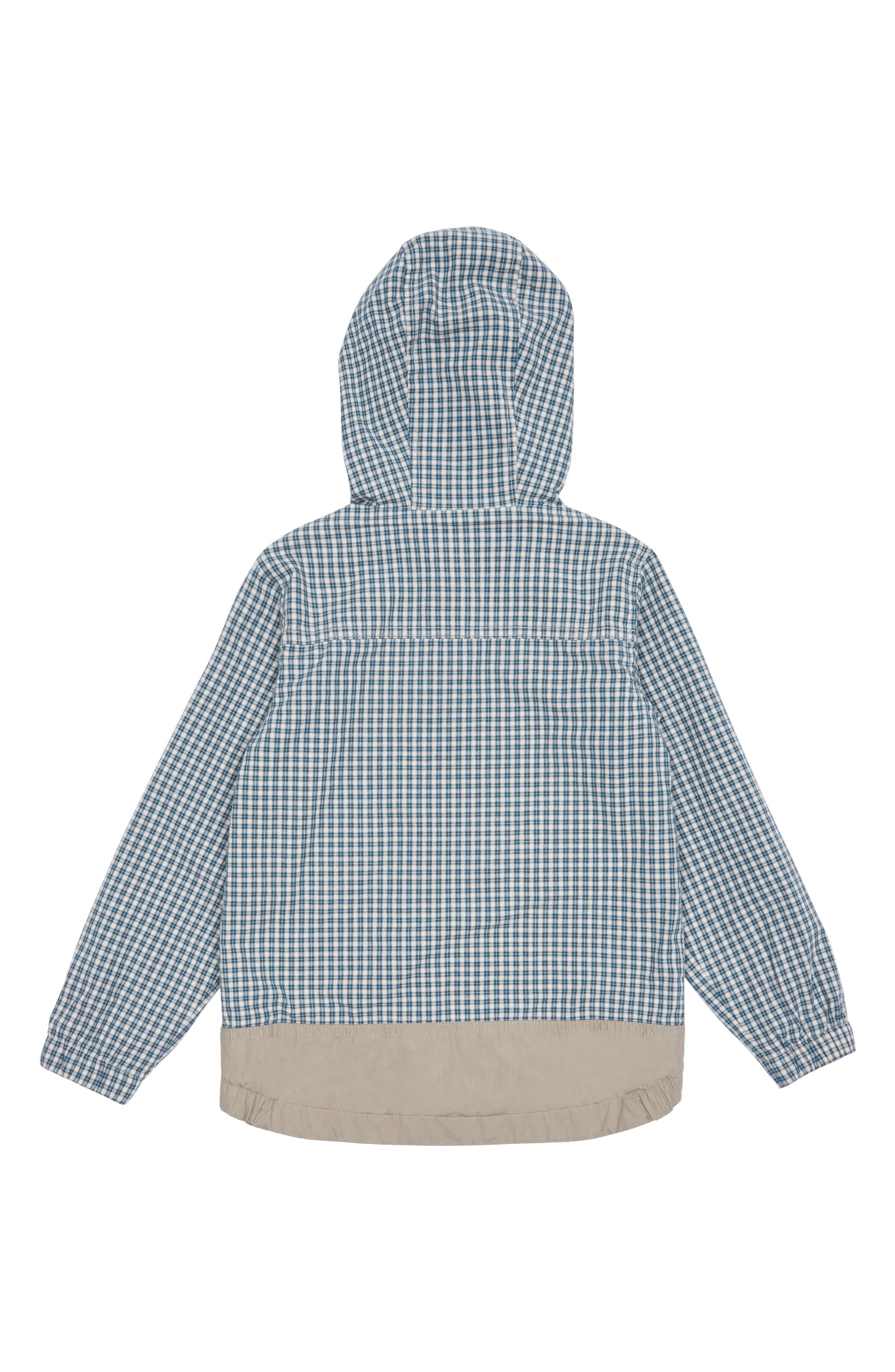Peek Beaux Mini Checkered Hooded Jacket