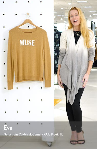 Muse Cotton Blend Sweater, sales video thumbnail