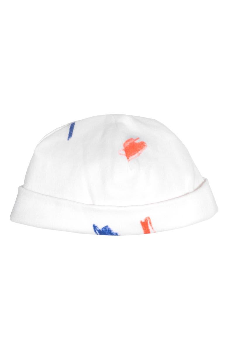 MAISONETTE Doodle Collection Hat, Main, color, MULTI