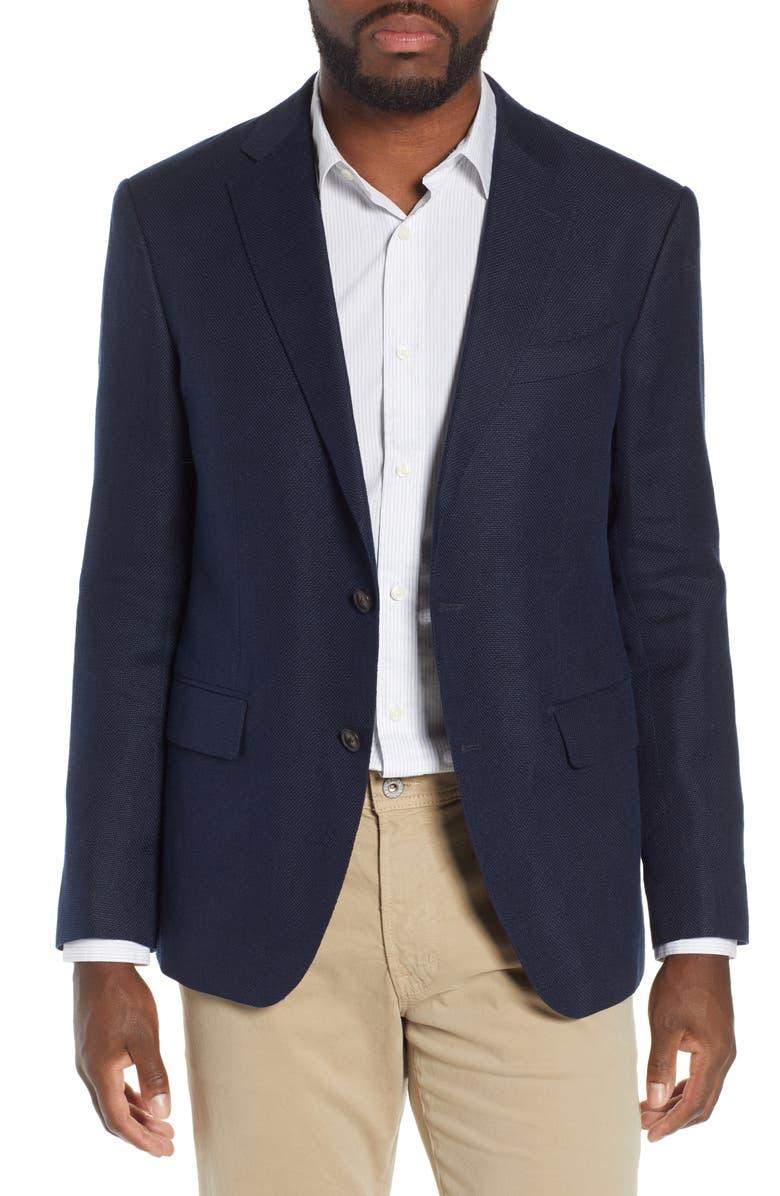 RODD & GUNN Leadervale Linen & Wool Sport Coat, Main, color, 412