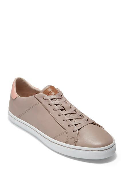 Image of Cole Haan Margo Lace-Up Leather Sneaker
