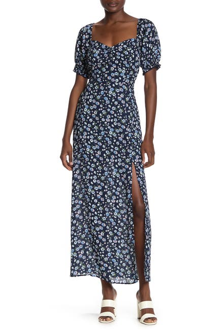 Image of ROW A Floral Print Maxi Dress