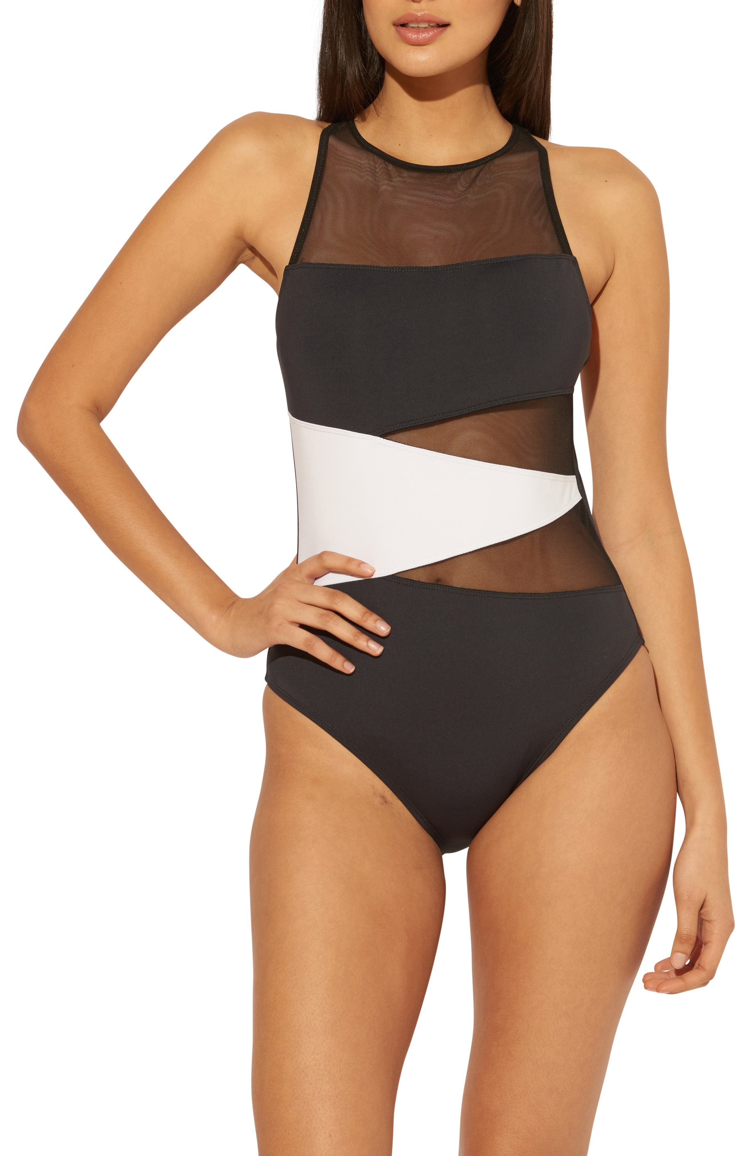 Women's Don'T Mesh With Me Cross Back One-Piece Swimsuit