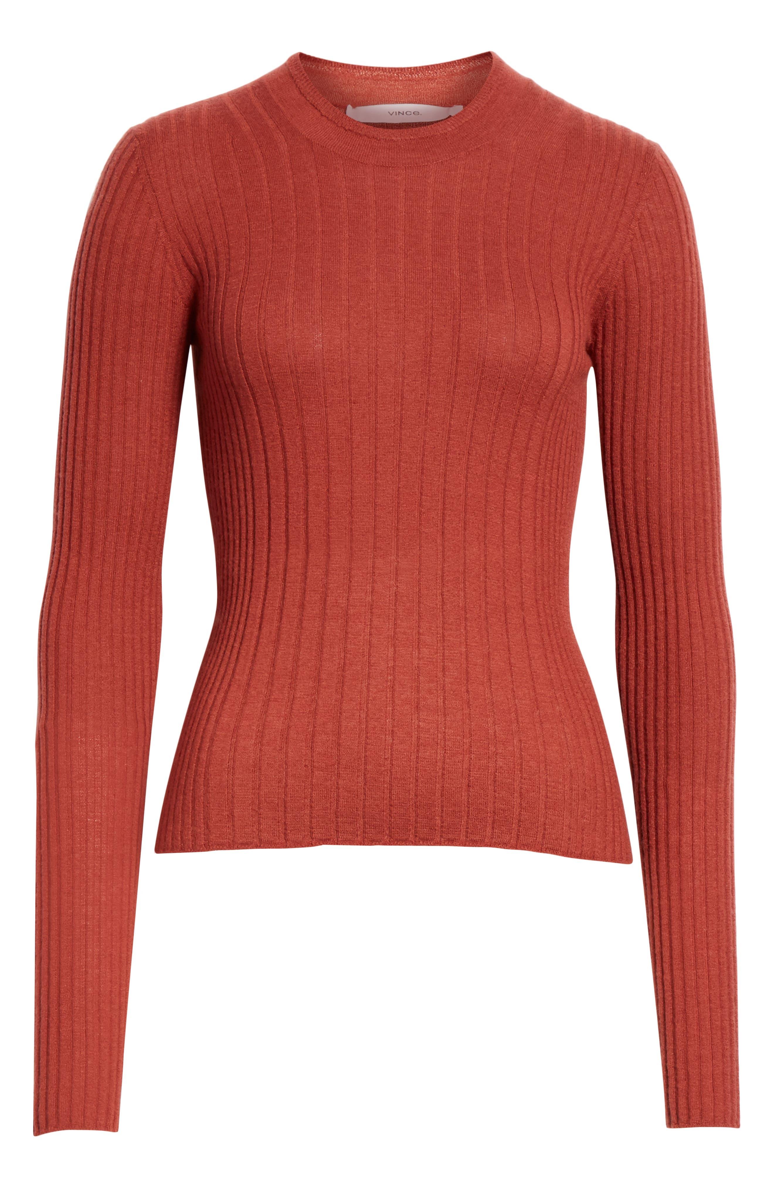 ,                             Mixed Rib Stitch Sweater,                             Alternate thumbnail 19, color,                             636