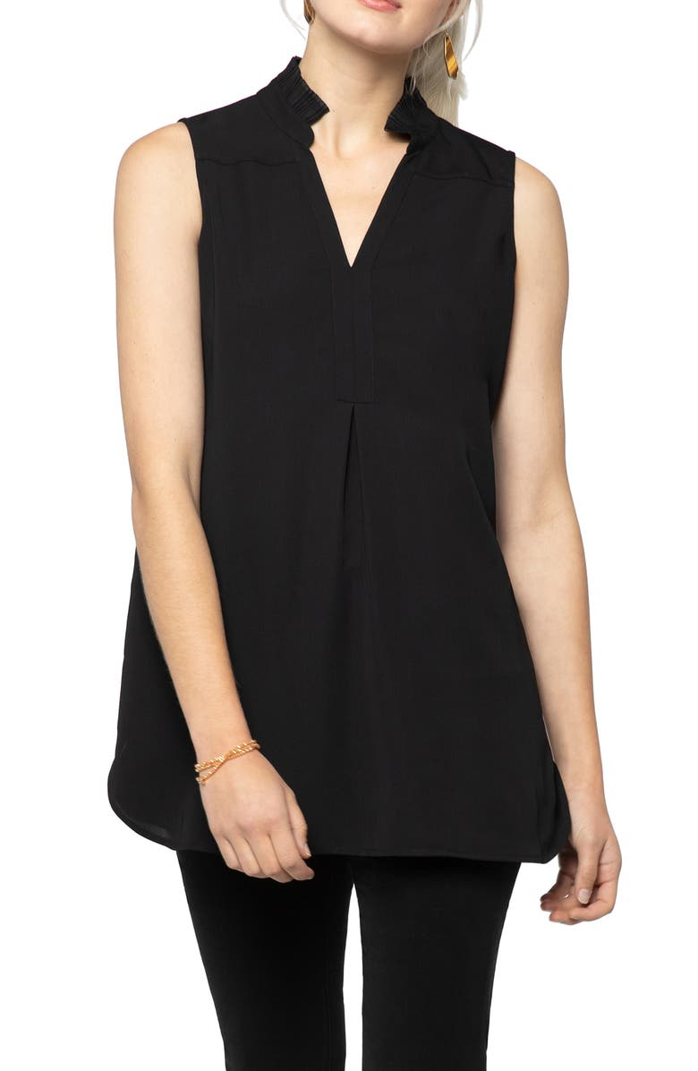 NIC+ZOE Charmer Tank, Main, color, BLACK ONYX