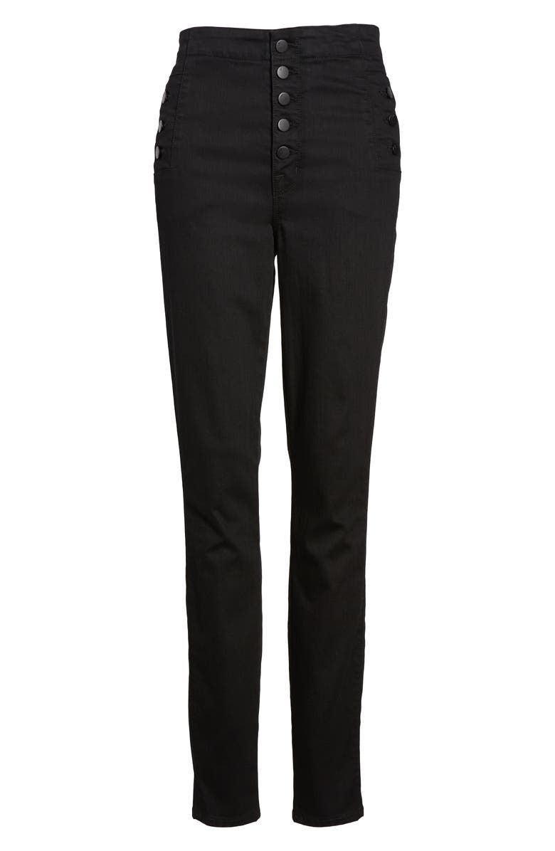 J BRAND Natasha Photoready High Waist Skinny Jeans, Alternate, color, VANITY