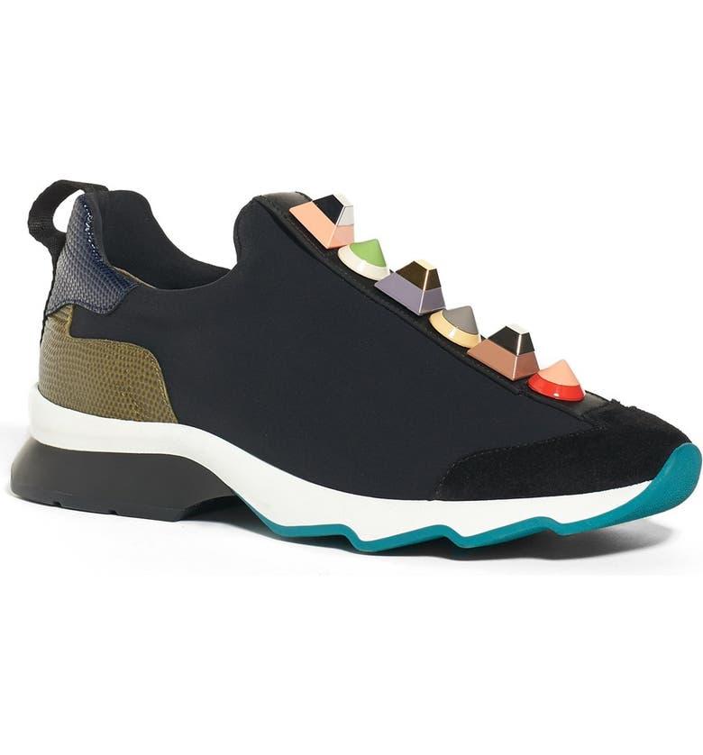 ae5aa01827 Fendi Rainbow Studded Sneaker (Women) | Nordstrom
