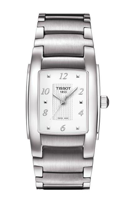 Image of Tissot Women's T-10 Swiss Automatic Watch, 31mm - 0.08 ctw