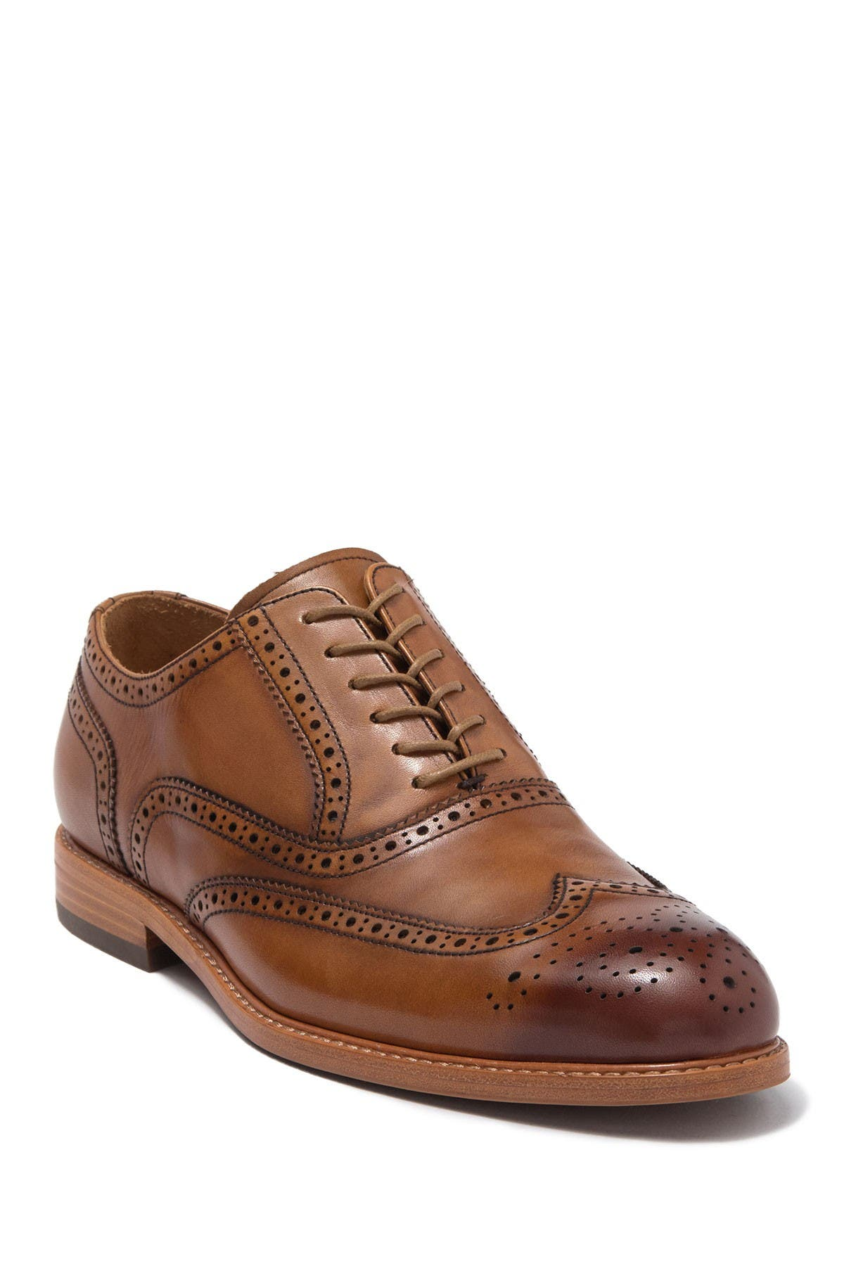 Image of Warfield & Grand Myer Wingtip Brogued Leather Oxford