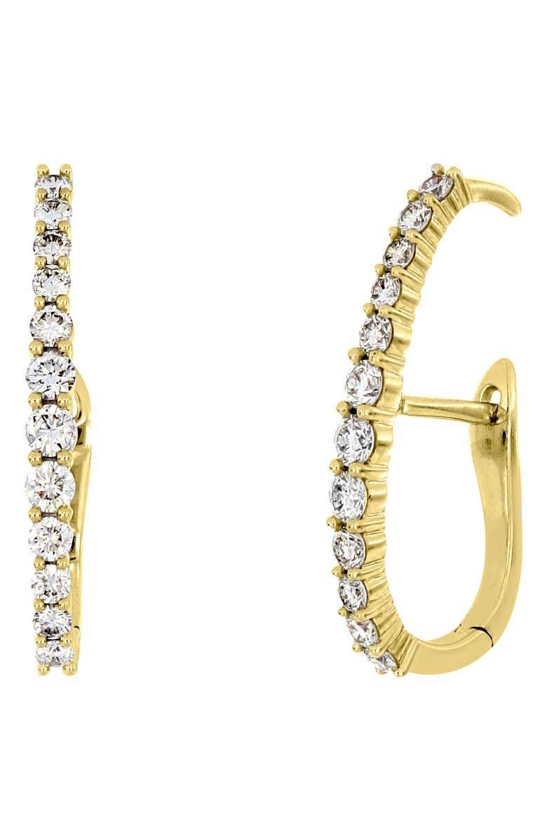 BONY LEVY Audrey Diamond Ear Crawlers, Main, color, YELLOW GOLD/ DIAMOND