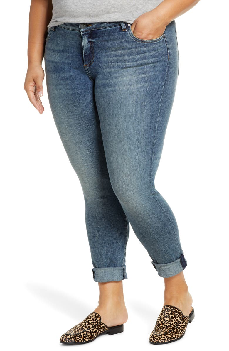 KUT FROM THE KLOTH Catherine Boyfriend Jeans, Main, color, 400